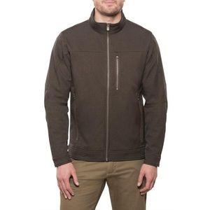 Kuhl • Espresso Brown Mock Neck Impakt Jacket